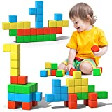 Magnetic Blocks, 28 Pieces 1.34 inch Large Magnetic Building...