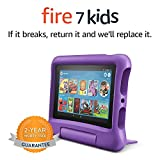 Fire 7 Kids Tablet, 7' Display, ages 3-7, 16 GB, Purple...