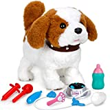 Forty4 Realistic Puppy Dog Toy for Kids, Walking, Barking,...