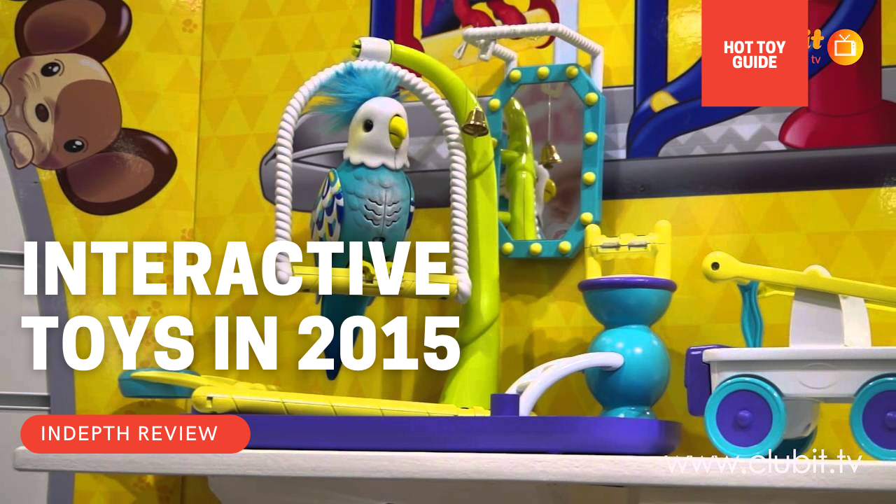 More hot interactive toys 2014